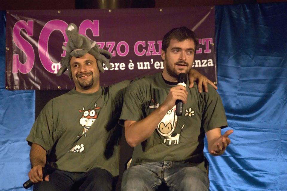 american-graffi-pulpito-nites-comici-alan-lenny-teatro-anghiari-2014