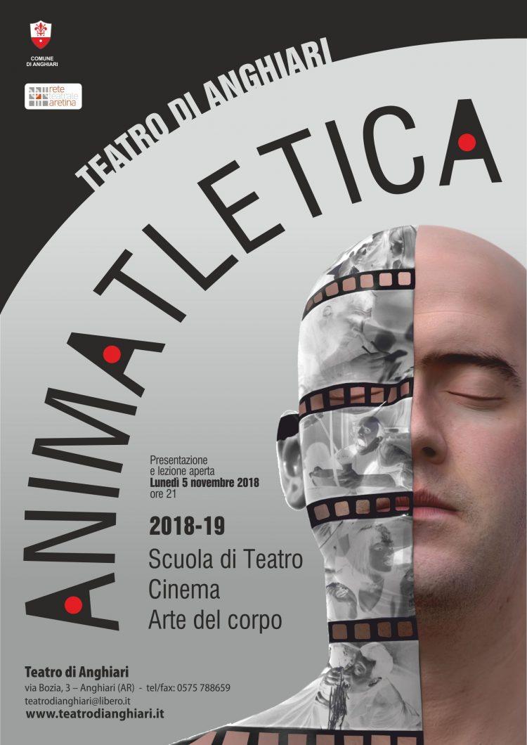 Locandina Corsi di Teatro 2018/2019: ANIMATLETICA