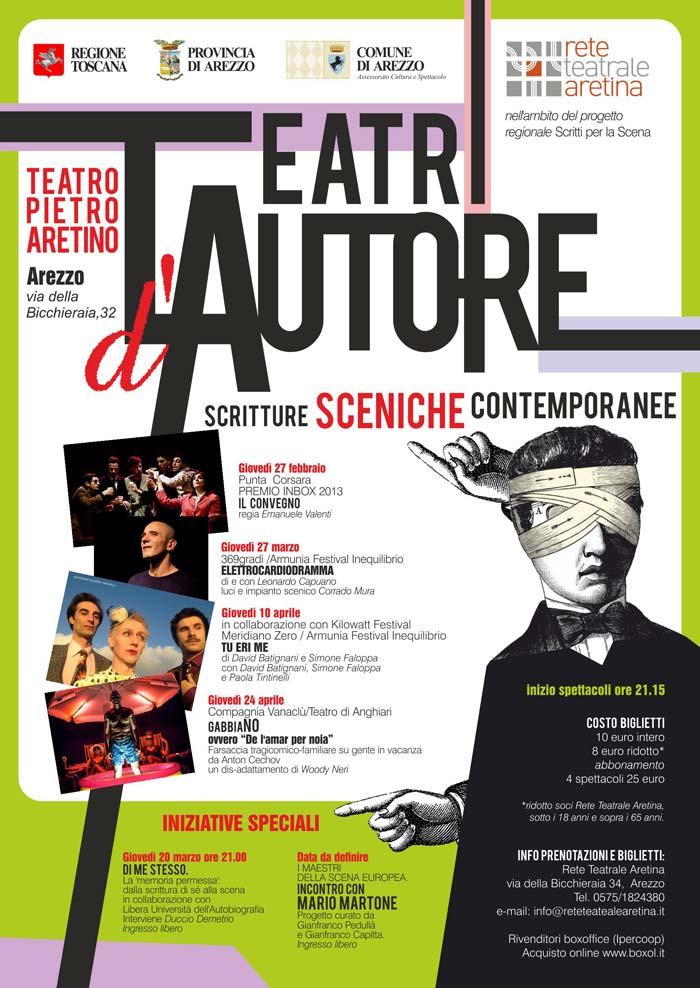 locandina Teatri d'Autore