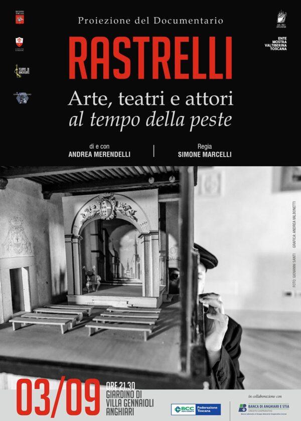 Locandina Rastrelli, 3 settembre 2021 - Villa Gennaioli, Anghiari